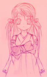 Ruri New Chara Sketch by Kawaii-Dream