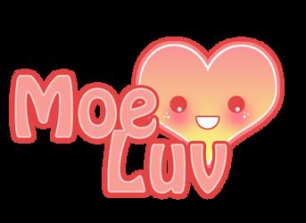 Moe Luv Logo New by Kawaii-Dream