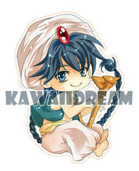Magi - Labyrinth of Magic - Chibi Aladdin by Kawaii-Dream