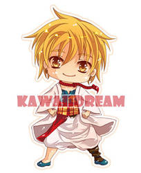 Magi - Labyrinth of Magic - Chibi Alibaba by Kawaii-Dream