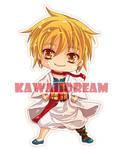 Magi - Labyrinth of Magic - Chibi Alibaba by Kawaii-Dream