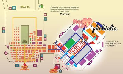 Japan Expo 2012 Map by Kawaii-Dream