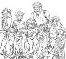 HotP - Doodle Grupal by Kawaii-Dream