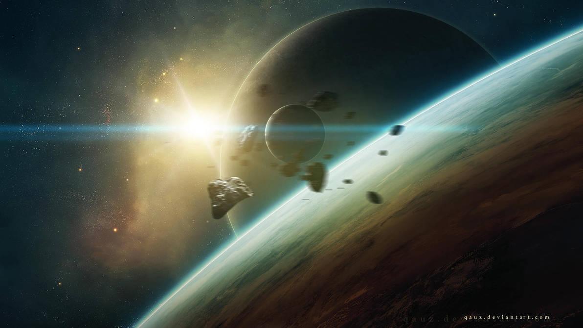 Unknown World by QAuZ