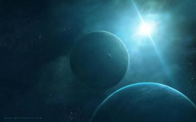 Light of Space by QAuZ