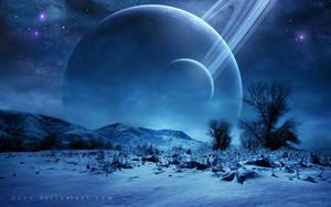 Winter Landscape by QAuZ