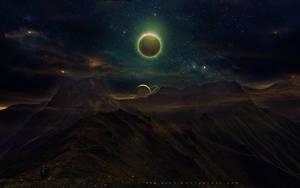 Beautiful Eclipse II by QAuZ