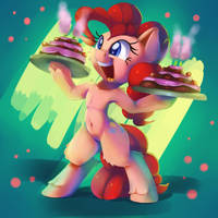 Epic cake time by thediscorded