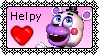 FFPS|Helpy Stamp by Emerald-The-Bunny
