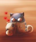 Boggart love by Alukei
