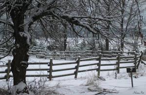 Snowy countryside by Henu96