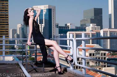 Black + Skyline by JulianaSoo