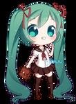 FREE Sailor Uniform Miku Pagedoll by rimuu