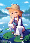 Danmaku!! Moriya Suwako by rimuu