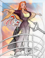 JESSICA RABBIT TITANIC transit by GOODGIRLART