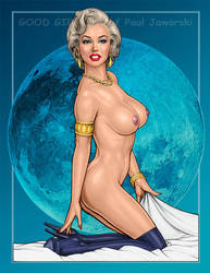 Marilyn Monroe VAMPIRELLA 1 by GOODGIRLART