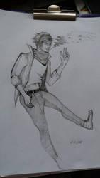 Casual Smoker by BenjiroHime