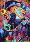 Little witch by KuroYuki-SnowFlake