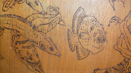 Pyrography Door  Coffee Table (14) by hofku43