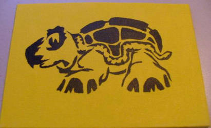 turtle canvas by Amza
