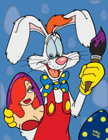 Roger Rabbit's Eggcellent Easter by SlySonic
