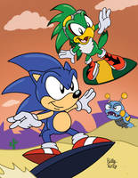 Sonic Radical Riders by SlySonic