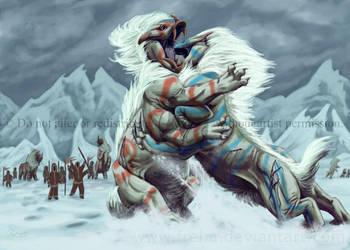 Arctic War Beast: Grug by Freha