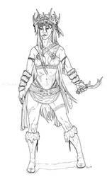 DnD Druid by Freha