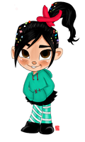 Vanellope by chinensisXIII