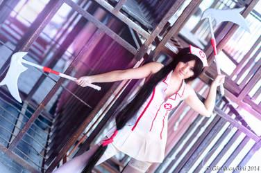 Akali Nurse Version - League Of Legends by GianlucaBini
