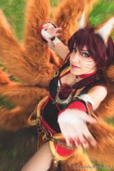 Ahri Foxfire - League of Legends by GianlucaBini