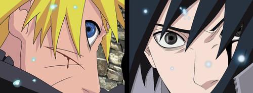 Naruto vs sasuke by Tp1mde