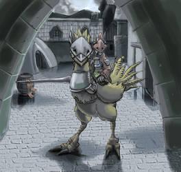 Freya, Dragon Knight. by Ryuujin-0