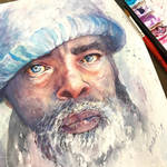 The Old Man by MonaParvin
