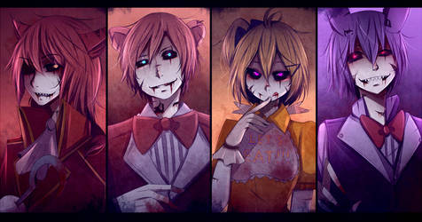 five nights at freddy's by Likesac