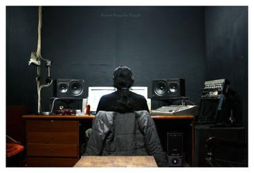 The Sound Man by nanasoigeboi