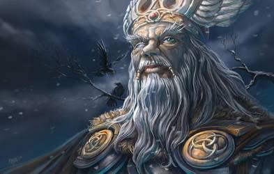 Odin by KejaBlank
