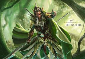 Elf Warrior by KejaBlank