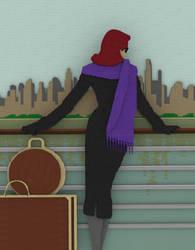 Leaving the City by bricksnoir