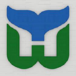 Hartford Whalers Logo by bricksnoir