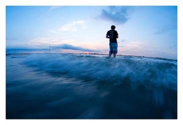 Surf Fishing by peehs