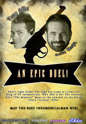 Billy Mays Vs. Vince Offer by fourdaysfromnow