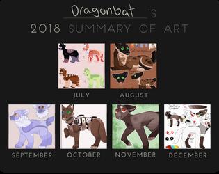 Design Summary 2018 by DragonbatAdopts
