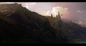 The Old Valley by erenarik