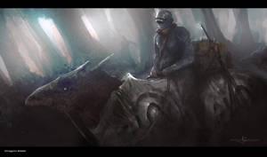 Dragon Rider by erenarik