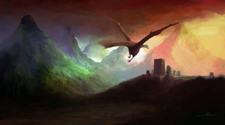 Atheria's Daemon by erenarik