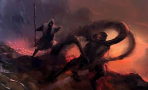 Dark spell speedpainting by erenarik