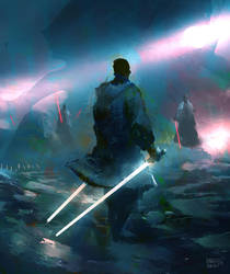 Jedi Master by erenarik