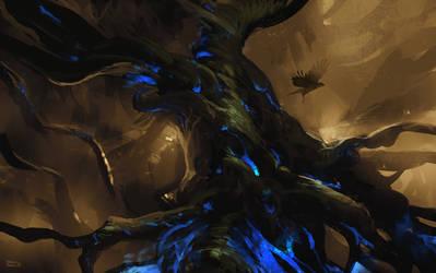 Tree of wisdom by erenarik