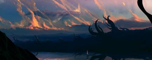 Skywhale by erenarik